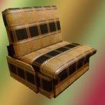 кресло кровать без подлокотников шенил