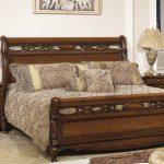 кровать деревянная прованс