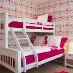 кровать в интерьере детской