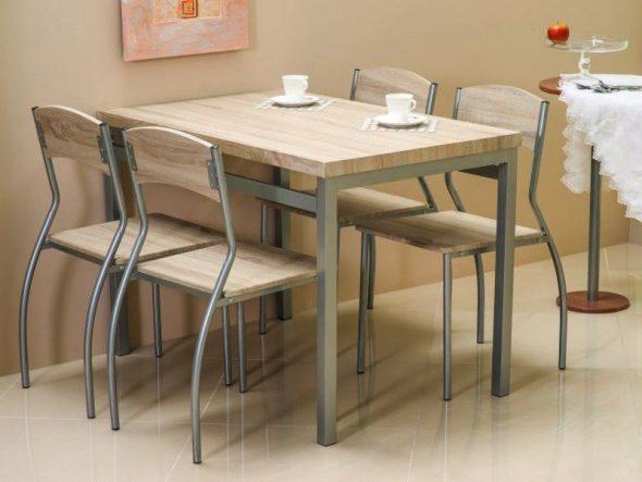 кухонный стол и стулья Астро