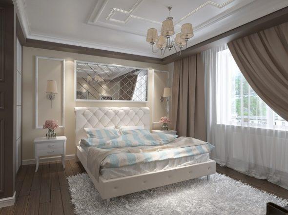 кровать неоклассика