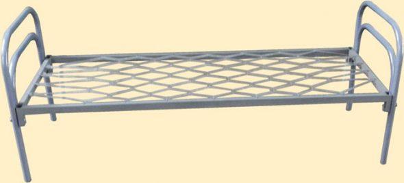 односпальные металлические кровати для строителей