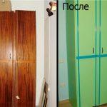 покрасить шкаф