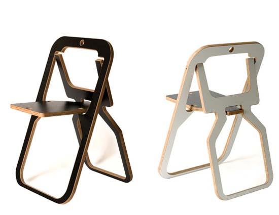 разнообразие складного стула