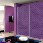 шкаф купе фиолетовый стекло