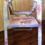 складной стул из фанеры своими руками с росписью