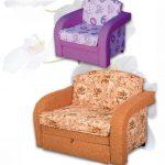 варианты детского кресла-кровати
