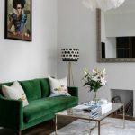зеленый диван