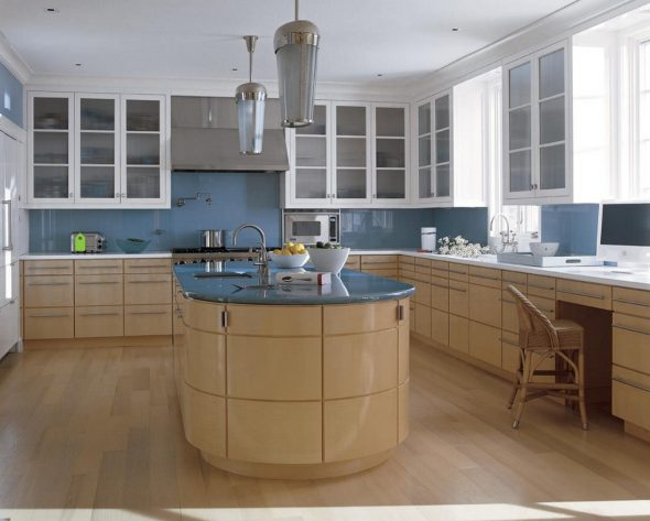 кухня современная угловая