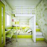 Цвет мебели в комнаты