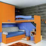 Детская Двухъярусная Кровать С Диваном изображения