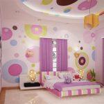Детская комната для девочек-оформления
