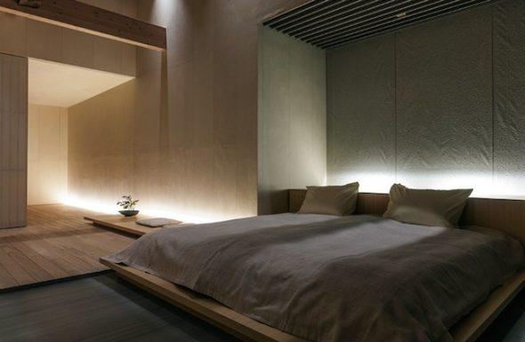 Дизайн минималистичной спальни