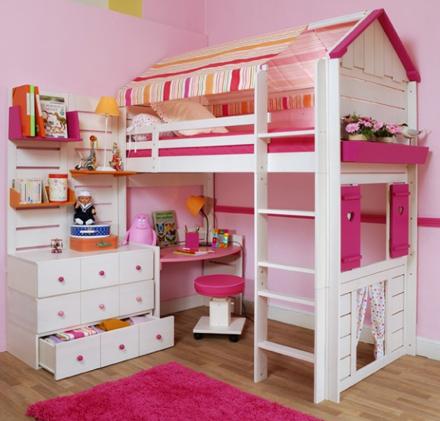 Домики-кровати для наших детей