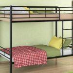 Двухъярусная кровать Севилья-3, чёрная