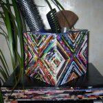 Гламурный стеллаж из картона