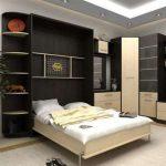 Интегрированная кровать в шкаф