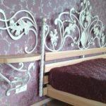 Кованая кровать № 106
