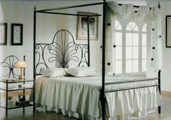 Кованая кровать на заказ