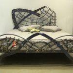 Кованая кровать современная