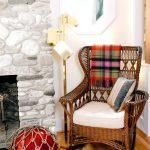 кресло качалка интерьер