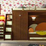 Кровать-чердак для двух детей – эффективное использование пространства