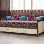 Кровать-диван Мебус