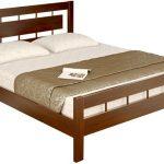 Кровать из дерева Сакура