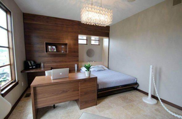 Кровать встраиваемая в стену