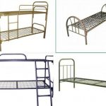 Кровати металлические двухъярусные-вариант