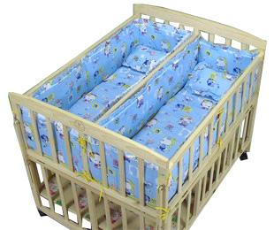 Кроватка для двойни-мальчики
