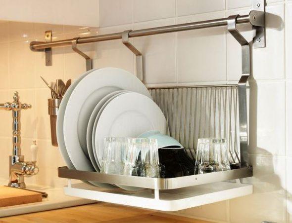 кухонная сушка с поддоном