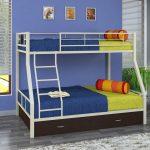 Металлическая двухъярусная кровать Гранада-1Я