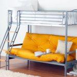 Металлические двухъярусные кровати изображения