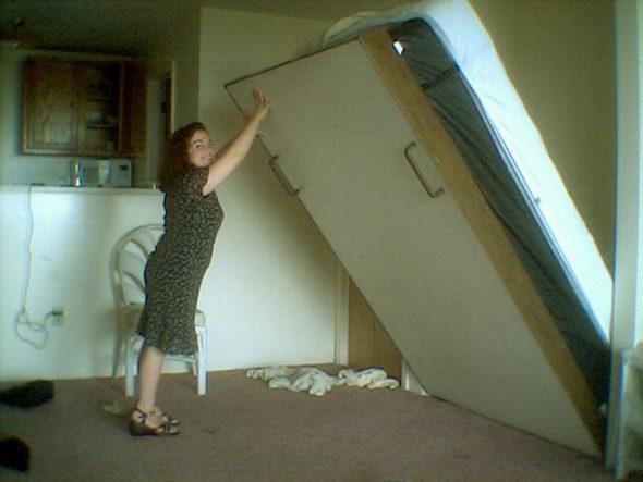 Подъёмная кровать