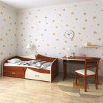 Подростковая кровать - диван 80х190 с ящиками