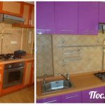 Покрасить кухонный гарнитур своими руками фото
