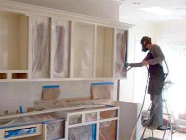 Ремонт фасада кухонной мебели