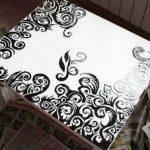 Роспись для стола