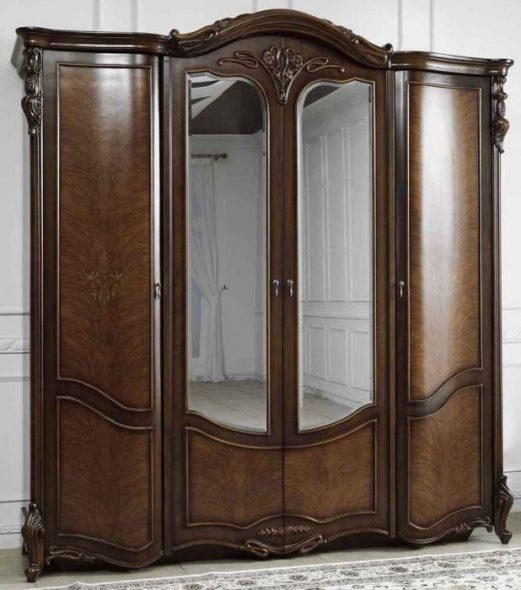Шкаф 4-дверный Дели