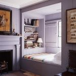 Уютная кровать в нише — альков