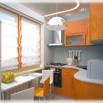 Варианты планировок для ремонта маленьких кухонь