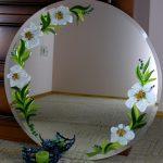 Зеркала с декором фьюзинг