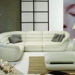 белый диван уголок