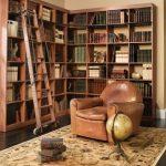 библиотека угловые полки