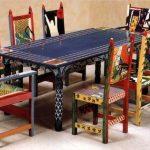 декор мебели после покраски