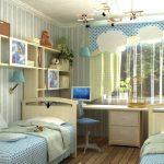 детская комната для двоих-советы