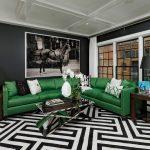 диван угловой зеленый