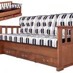 диван-кровать с ящиками для хранения