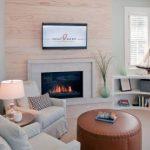 угловые полки дизайн гостиной